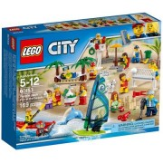 City Town Beach Fun City Town People Pack - Fun at the Beach - 60153 - 169 Pcs. - By LEGO