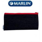 Marlin Denim Pencil Case 20cm, Retail Packaging,