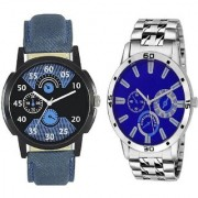 TRUE CHOICE NEW BRAND NEW PACK 2 BEST LOOK MEN WATCHES WITH 6 MONTH WARRANTY