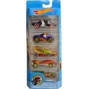 HotWheels Street Beasts Set Of Five Car Gift Pack DJD24