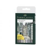 Faber-Castell Pitt Artist Pen Soft Brush etui 8 stuks assorti