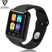 JAYSDAREL U80 Bluetooth Smart Watch Sport Fitness Bracelet Wearable Device 1.44 inch Smartwach for Android iOS PK U8 GT08 DZ09