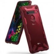 Husa LG G8 ThinQ-Ringke Fusion-X Rosu