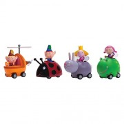Ben And Holly Little Kingdom & Hollys Magic Movers Mini Push N Go Buggy 4 Pieces Exclusive