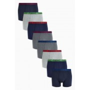Mens Next Marl Waistband A-Fronts Eight Pack - Multi