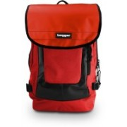 Tagger Urban Electro Red Bbrd (Red) Top Loaded Ultimate 21 L Laptop Backpack(Red)