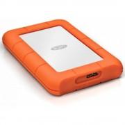 """HDD extern Lacie, 2TB, Mini, 2.5"""", USB3.0, argintiu, Shock rain pressure resistant"""
