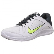 Nike Men's Cp Trainer White Volt and Classic Charcoal Running Shoes 643209-103