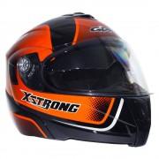 Gdr Casco Abatible GDR X-Strong Naranja Extra Grande