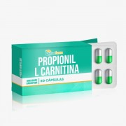 Propionil L Carnitina 500mg 60 Cápsulas