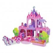 Melissa & Doug 3D puzzle, Pink palota