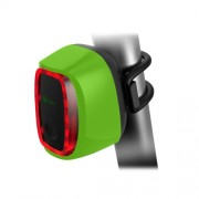 Meilan X6 Smart Switch 6 Flash Models Rechargeable Bicycle Tail Light(Green)