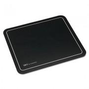 Srv Optical Mouse Pad, Nonskid Base, 9 X 7-3/4, Black