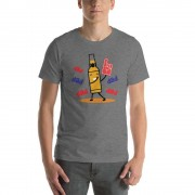 Dabbing Beer - Funny Beer T-Shirt - Adult Unisex T-Shirt