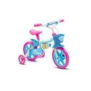 Bicicleta Infantil Menina Aro 12 Nathor Modelo Aqua