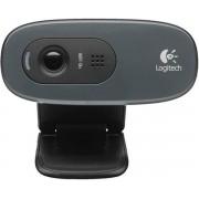 Camera Web Logitech C270, HD (Negru)