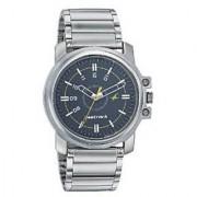Fastrack Quartz Black Dial Mens Watch-3039SM02