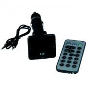 MP3 radio adapter 12V USB&SD Slot + Remote control