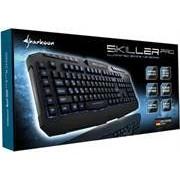 Sharkoon Skiller Pro Illuminated Customisable Gaming Keyboard-3-block standard layout