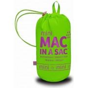 Mac in a Sac Neon Jacket Kinderregenjacke grün fluoreszierend