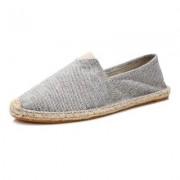 Max 920 Espadrilky textilní boty Volcano - šedo bílá