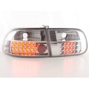FK-Automotive LED Feux arrieres pour Honda Civic 3-portes (type EG4/EG8) An 92-95, clair
