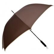 Umbrela Samurai XL ICONIC Automata, Maro cu margine crem,