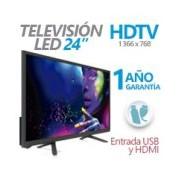 TELEVISION LED GHIA 24 PULG HD 720P 1 HDMI/ USB/ VGA/PC 60 HZ