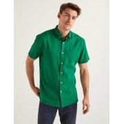 Boden Paradiesgrün Malton Hemd mit kurzen Ärmeln Herren Boden, L, Green