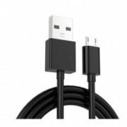 Cablu de date high quality Micro USB pentru Samsung Huawei HTC Allview cu conector micro USB lungime 3 m NEGRU BBL356