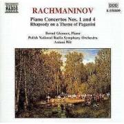 S. Rachmaninov - Piano Concertos No.1&4 (0730099580922) (1 CD)