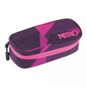 nitro Etuibox Pencil Case Fragments Purple