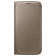 Bolsa Tipo Carteira EF-WG920PF para Samsung Galaxy S6 - Dourado
