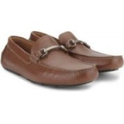 Clarks Davont Ride Tan Interest Lea Slip on shoes For Men(Tan)
