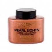 Makeup Revolution London Pearl Lights хайлайтър 25 гр за жени Sunset Gold