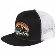 Alprausch - Bergsunne Trucker Cap - Casquette taille One Size, noir/gris