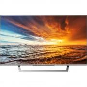 LED televizor BRAVIA KDL32WD757 Sony 80 cm 32 inča KEU: A DVB-T2, DVB-C, DVB-S, Full HD, Smart TV, WLAN, PVR ready, CI+ srebrna