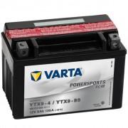 Varta mootorratta aku AGM YTX9-4 / YTX9-BS