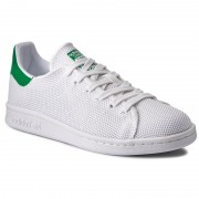 Обувки adidas - Stan Smith BB0065 Ftwwht/Ftwwht/Green