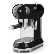 SMEG ECF01BLEU szabadonálló rusztikus kávéfőző - fekete
