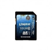 Memory Card Flash Memoria SD Kingston 32GB CLASSE 10 Originale UHS-1 ELITE SD10G3/32GB