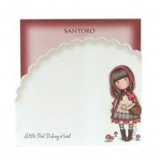 Hullámos Memotömb - Gorjuss - Little Red Riding Hood