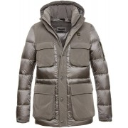 Blauer USA Noah Long Goose Down Chaqueta Gris 3XL
