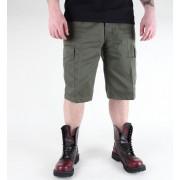 rövidMIL-TEC férfi nadrág - Bermuda - Oliv - 11401001