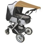 SlaapTextiel UV Bescherming voor Kinderwagens Zand