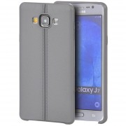 Funda Case para Samsung Galaxy J7 de Plastico tipo TPU Flexible -Gris