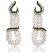 Sukkhi Resplendent Gold Plated Pearl Earring For Women