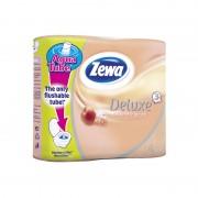 Hartie igienica Zewa Deluxe Piersica 3 straturi 4/set