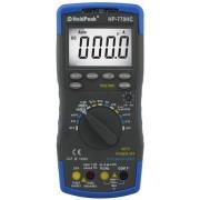 HOLDPEAK 770HC Digitális multiméter VAC VDC AAC ADC ellenállás kapacitás hőmérséklet frekvencia NCV.