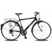 Olpran muški trekking bicikl Mercury 28, crni
